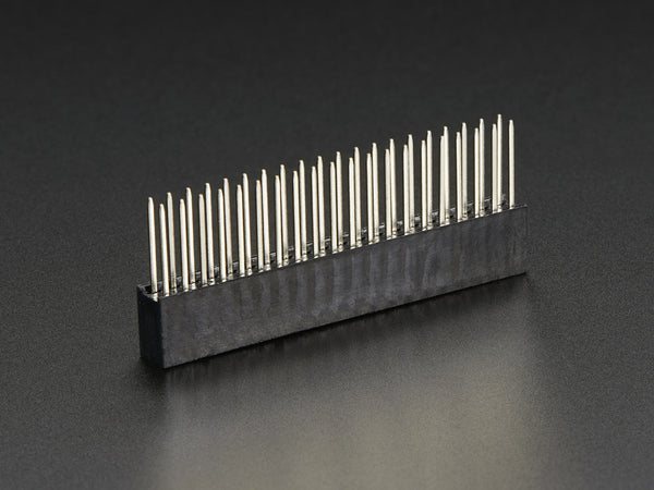 GPIO Stacking Header for Pi A+/B+/Pi 2 - Extra-long 2x20 Pins