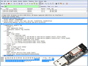 Bluefruit LE Sniffer - Bluetooth Low Energy (BLE 4.0) - nRF51822