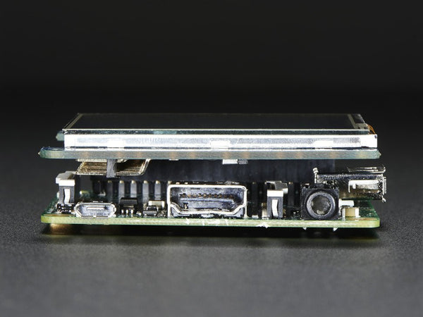"Adafruit PiTFT 2.4"" HAT Mini Kit - 320x240 TFT Touchscreen"
