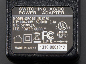 5V 2A (2000mA) switching power supply
