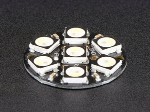 NeoPixel Jewel - 7 x 5050 RGBW LED w/ Integrated Drivers - Cool White - ~6000K