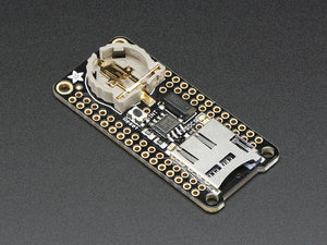 Adalogger FeatherWing - RTC + SD Add-on For All Feather Boards - Chicago Electronic Distributors