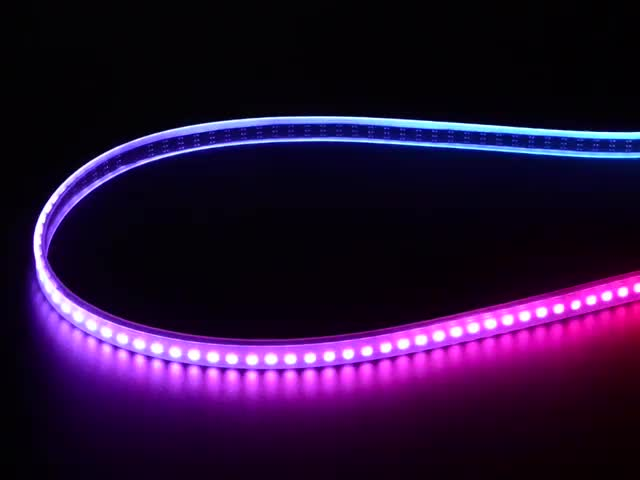 Adafruit Mini Skinny NeoPixel Digital RGB LED Strip - 144 LED/m - 1m BLACK