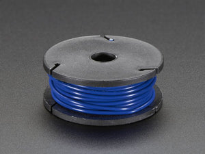 Stranded-Core Wire Spool - 25ft - 22AWG - Blue