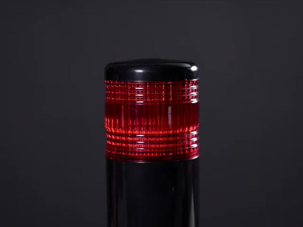 Tower Light - Red Alert Light with Buzzer - 12VDC
