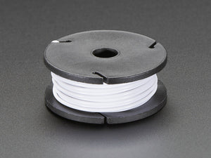 Stranded-Core Wire Spool - 25ft - 22AWG - White