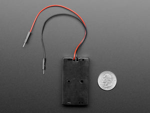 2 x AA Battery Holder with Premium Jumper Header Wires
