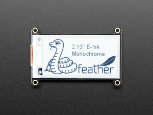 "Adafruit 2.13"" Monochrome eInk / ePaper Display FeatherWing - 250x122 Monochrome"