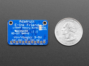 Adafruit eInk Breakout Friend with 32KB SRAM