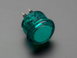 Arcade Button - 30mm Translucent Green