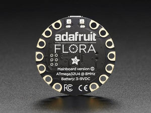 FLORA - Wearable electronic platform: Arduino-compatible v3