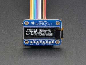 Monochrome 128x32 SPI OLED graphic display