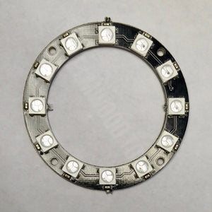 12x WS2812-compatible 5050 RGB LED Ring