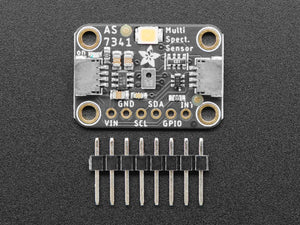 Adafruit AS7341 10-Channel Light / Color Sensor Breakout - STEMMA QT / Qwiic