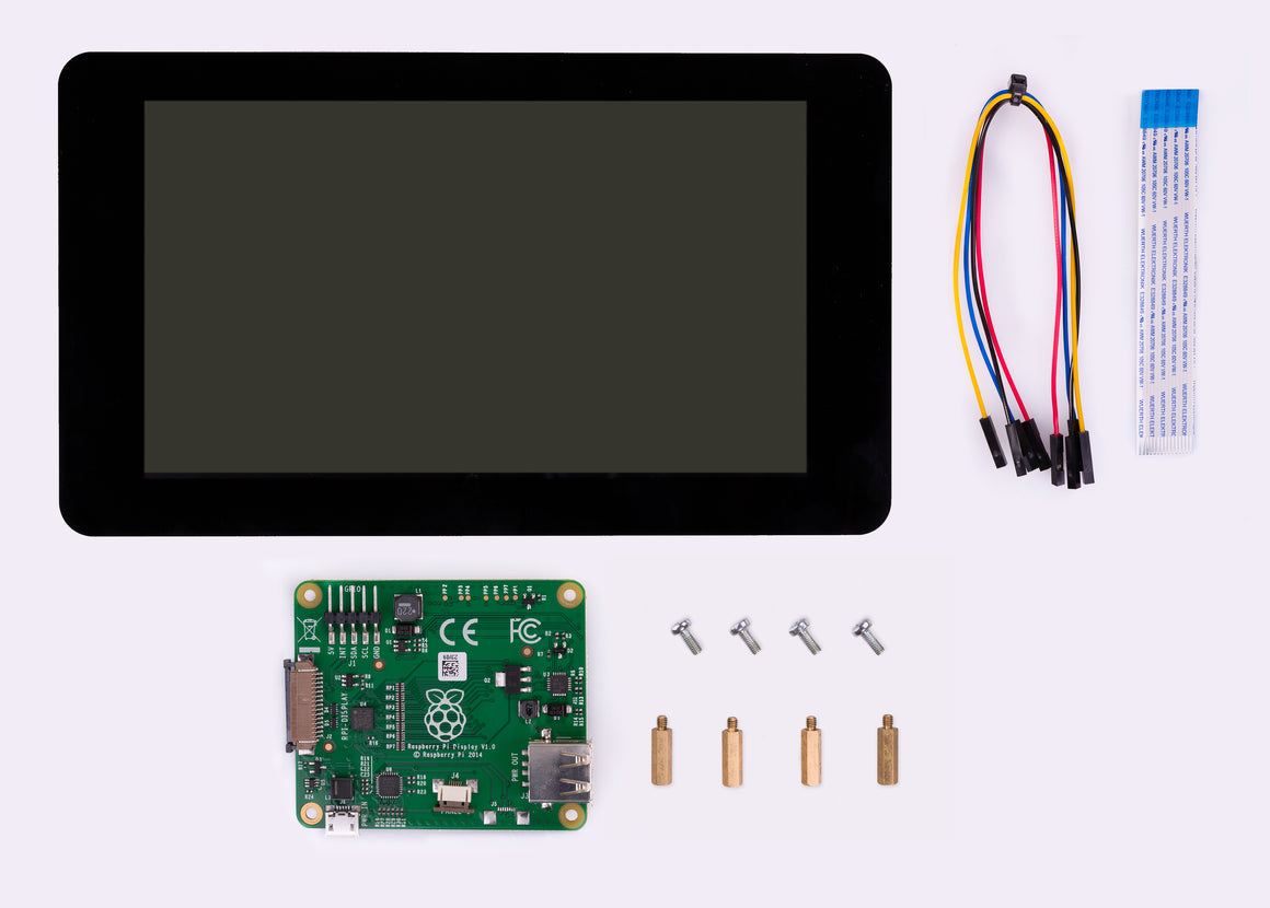 "Raspberry Pi Foundation 7"" Touchscreen Display"