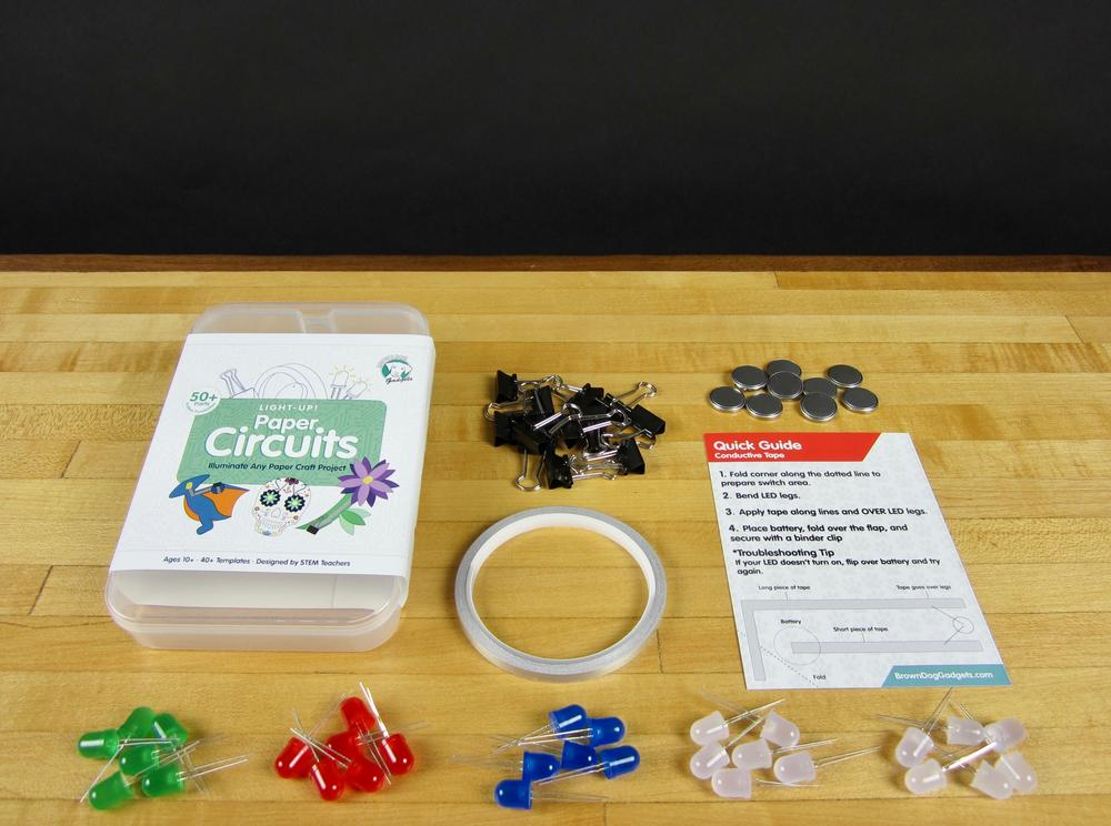 Paper Circuits Kits - Featuring Maker Tape!