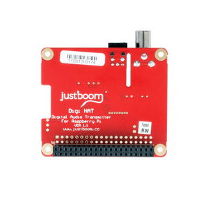 JustBoom Digi HAT for the Raspberry Pi