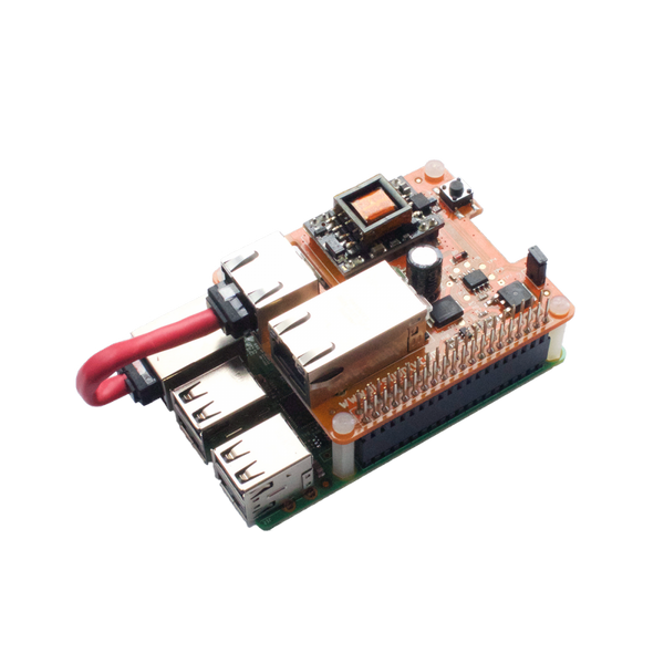 Pi PoE Switch HAT – Power over Ethernet for Raspberry Pi