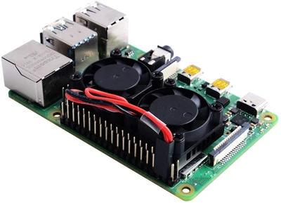 Raspberry Pi Dual Fan with Heatsink