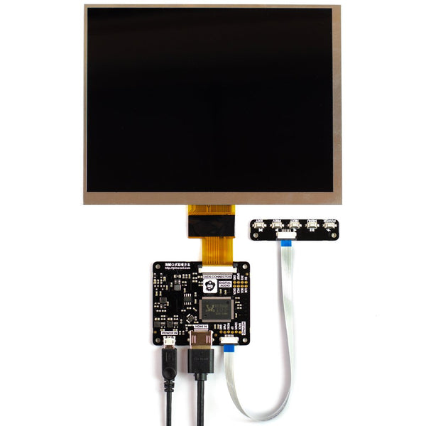 "HDMI 8"" IPS LCD Screen Kit (1024x768)"