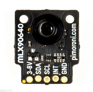 MLX90640 Thermal Camera Breakout – Wide angle (110°)
