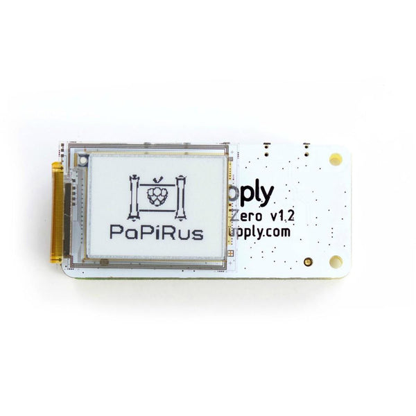 PaPiRus Zero - ePaper / eInk Screen pHAT for Pi Zero