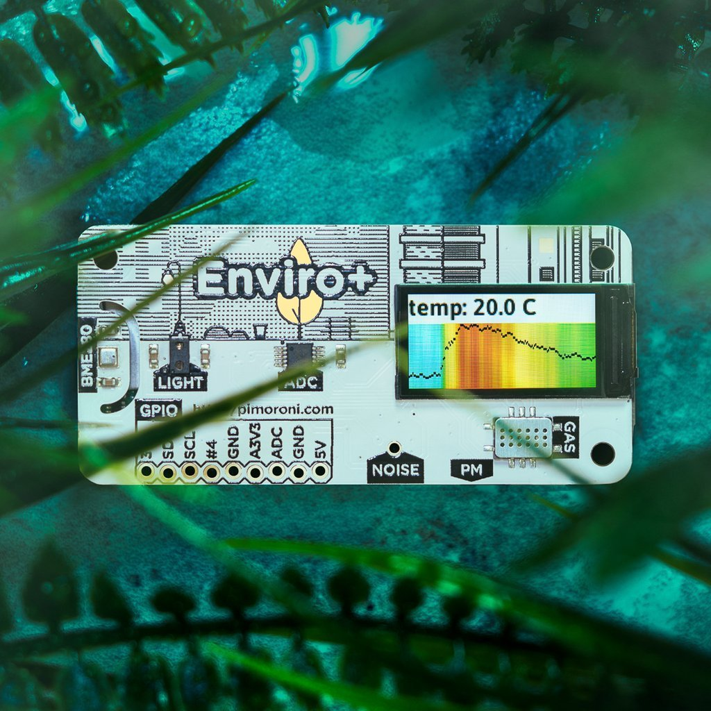 Enviro+ for Raspberry Pi