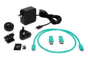 pi-top [4] Accessory Bundle (PSU, Display Cables, SD Card)