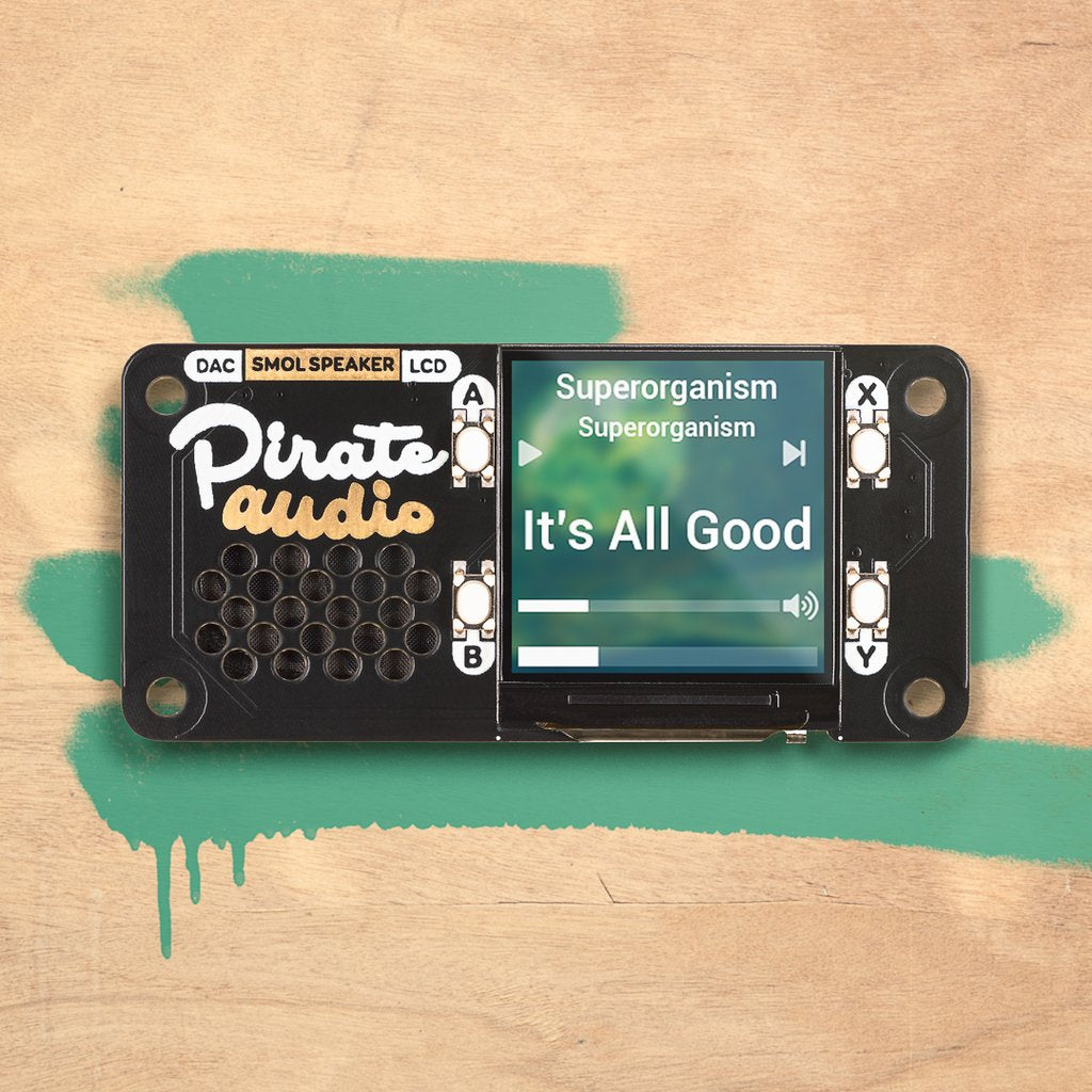 Pirate Audio: Speaker for Raspberry Pi