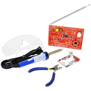 FM Radio Soldering Kit with Tools