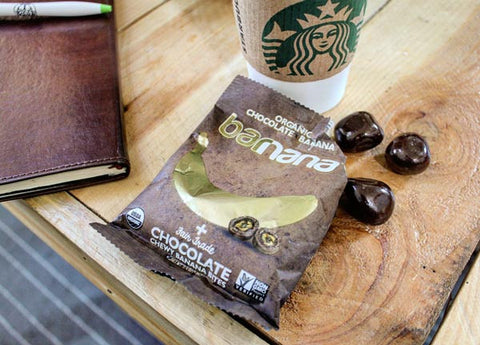 Barnana Starbucks wooden table magic