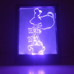LED Light Frames - Character