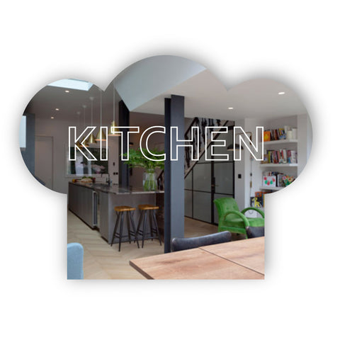 Kitchen Engraved Chefs Hat Acrylic Mirror Sign