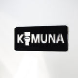 BASQUE Toilet KOMUNA Unique Missing 'O' Acrylic Mirrored Door Sign - Suave Petal