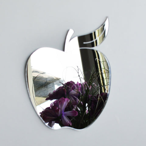 Apple and Leaf Acrylic Mirror - Suave Petal