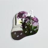 Strawberry Engraved Acrylic Mirror - Suave Petal