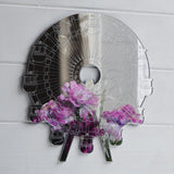 Funfair Ferris Wheel / Big Wheel Engraved Acrylic Mirror - Suave Petal