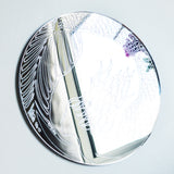 Mermaid Circle Engraved Acrylic Mirror - Suave Petal