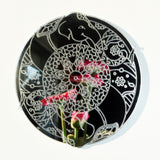 Mandala Elephant Circle Engraved Acrylic Mirror