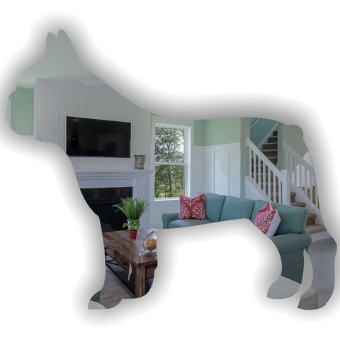 French Bulldog Side Profile Acrylic Mirror