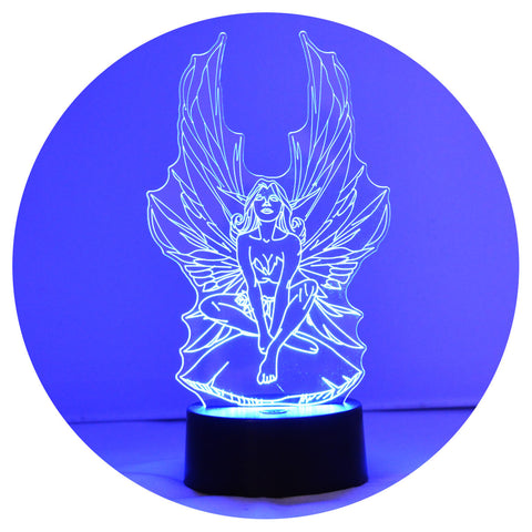 Magic Fairy Colour Changing LED Acrylic Light - Suave Petal