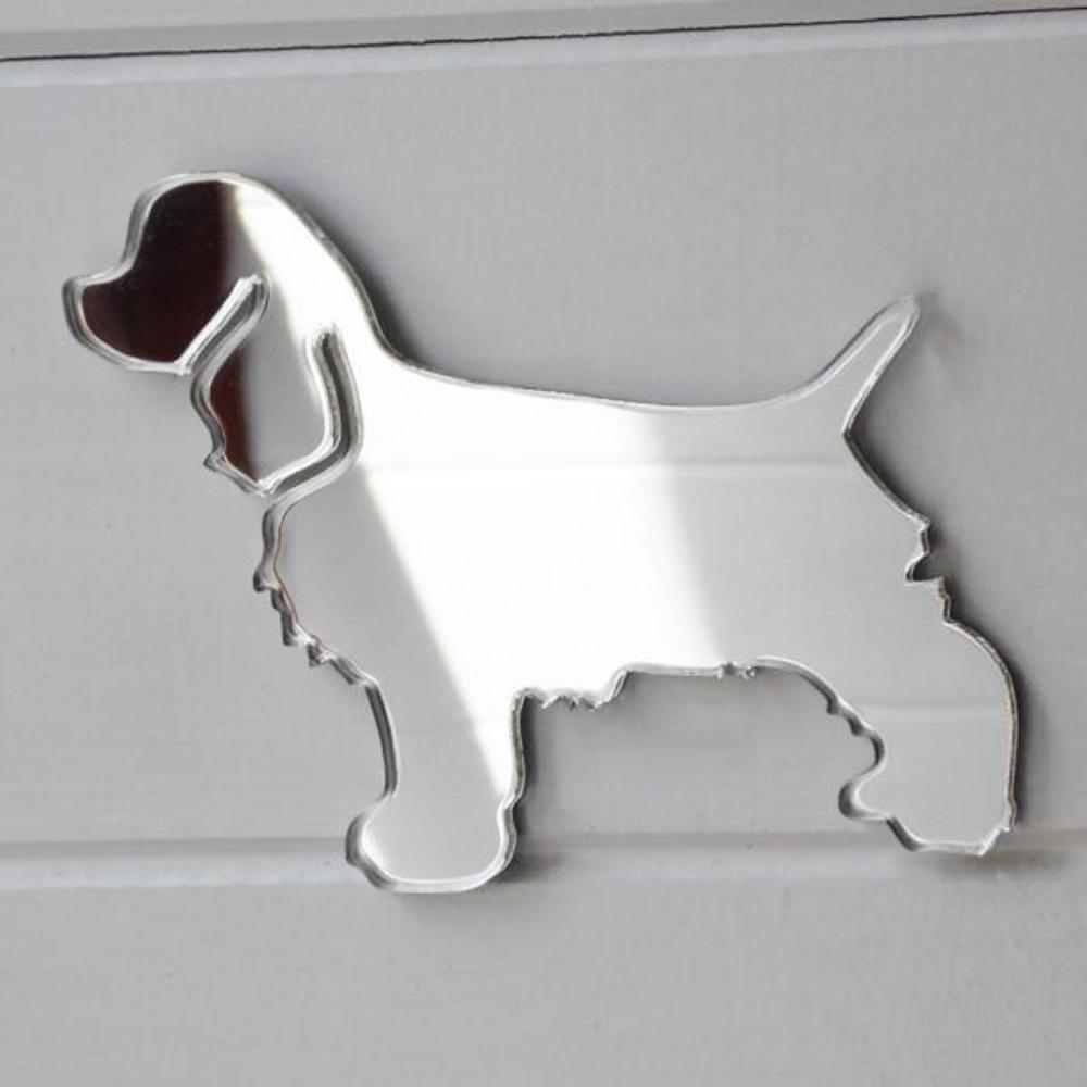Cocker Spaniel Dog Acrylic Mirror - Suave Petal