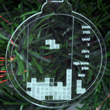 6 Pk Handmade 80s Arcade Pixel Games Themed Clear Acrylic Decorations - Suave Petal