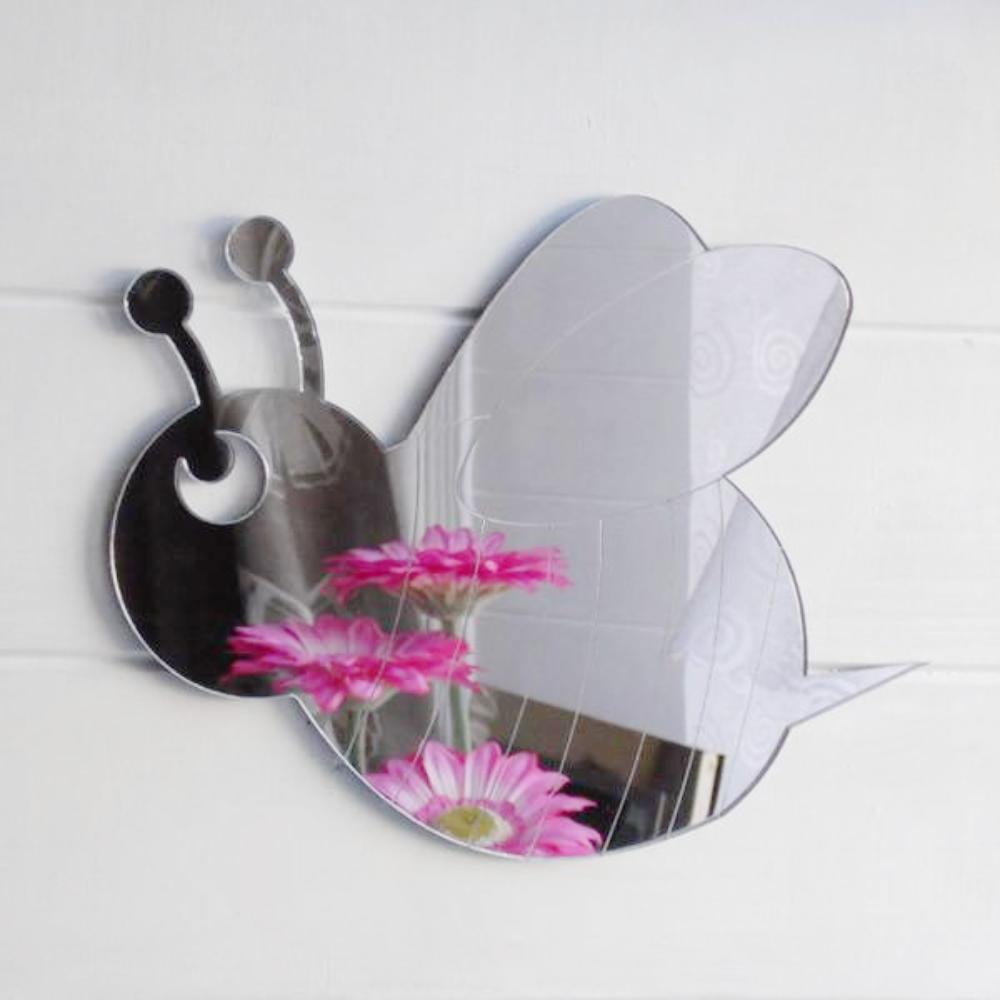 Bumble Bee Engraved Acrylic Mirror - Suave Petal