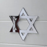 Star of David Acrylic Mirror - Suave Petal