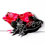 Toad Side Profile Engraved Acrylic Mirror - Suave Petal