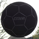 Soccer Ball / Football Acrylic Mirror Personalised with an Engraved Name - Suave Petal