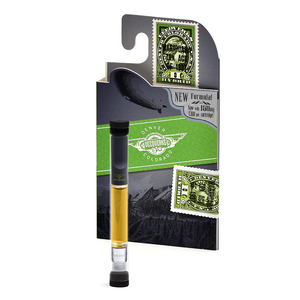 Veedverks 1.0 ml Hybrid hemp CBD vape pen cartridge and packaging