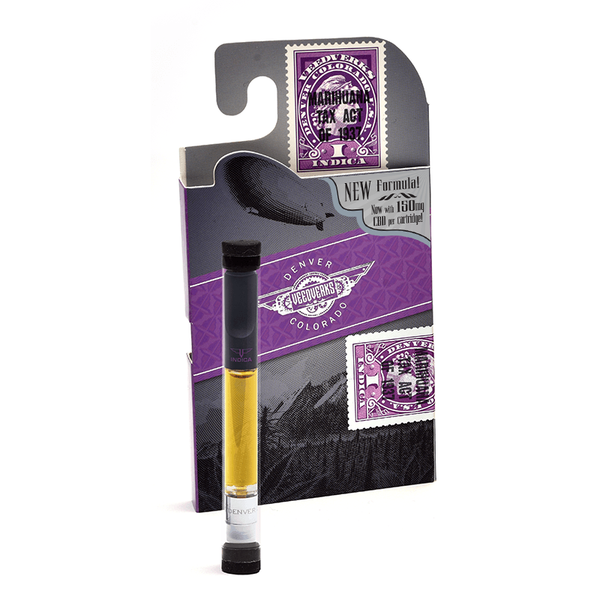 Sativa 150 mg CBD Vape Pen Cartridge - Veedverks