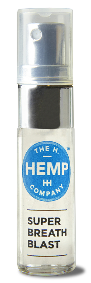 H Hemp Peppermint Super Breath Blast